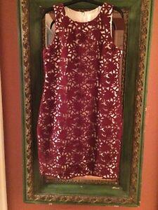 J Crew Collection Beautiful Guipure Lace Sleeveless Shift Dress Sz 6 NWT