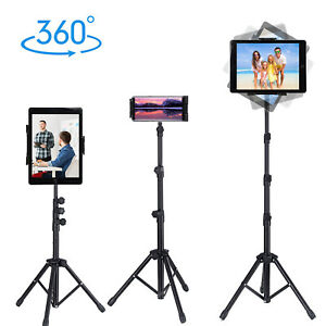 Strong Floor Bed Stand Tripod Mount Holder for IPAD Pro 12.9 Tablet/Kindle/Nexus