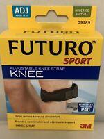 3m Futuro Sport Adjustable Knee Strap Reinforced Pressure Pad 09189 Moderate