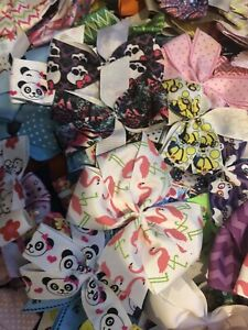 Unfinished Hairbow Lot Of 25