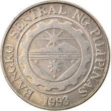 [#817384] Coin, Philippines, Piso, 2001, EF(40-45), Copper-nickel, KM:269