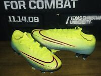 Nike Mercurial Vapor 13 Elite MDS FG CR7 SOCCER CLEATS LEMON VENOM $300 SIZE 7