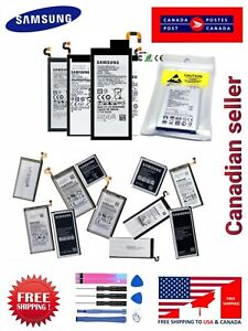 OEM Original Battery Replacement for Samsung S4 S5 S6 S7 edge S8 S9+ Note4 5 8 9
