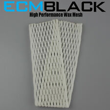 ECM Black Lacrosse Mesh ECD East Coast Dyes 20mm 10d player mesh new in package
