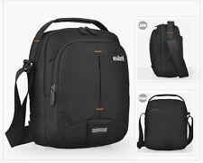 "Mixi 10"" Black Messenger Satchel Bag Business Cases Small Laptop Pack Work Pack"