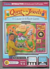 QUEST FOR THE JEWELS A CAUSE AND EFFECT GAME (PC)