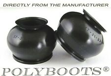 2x Polyboots Polyurethane Dust Boots 17x31x33 mm Tie Rod End and Ball Joint Boot