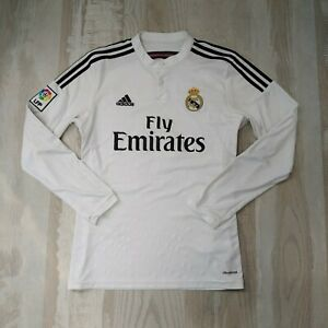 Sergio Ramos Real Madrid Home T-shirt 2014 - 2015 long sleeve Adidas F49660 sz M