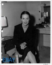 Alida Valli candid Vintage Photo Key book photo
