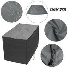 Outdoor Garden Barbecue BBQ Waterproof Furniture Cover Grey Grill Protector 1