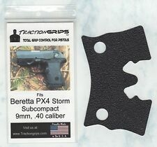 Tractiongrips brand grips for Beretta PX4 Storm Subcompact 9mm, .40 / rubber