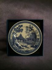 """Miniature Plate from """"The Spode Blue Room Collection."""""""