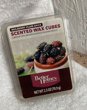 Better Homes and Gardens Scented Fragrance Wax Cubes Mulberry Plum Spice