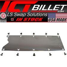 Ls Gen 3 Billet Valley Pan Cover Plate Knock Sensor Delete Ls1