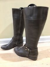 Ralph Lauren Women's Riding Boots Size 8 Pre Owned Brown Leather !