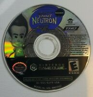 The Adventures of Jimmy Neutron Jet Fusion Nintendo Gamecube Disc Only Authentic