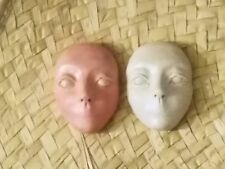 Face mold 1 paint yourself less than 2 inches by Lori Barbee ooak