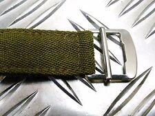 Original Vintage British Army Pantalón Lado De Plata Hebillas,No2/Barraca 1 Par