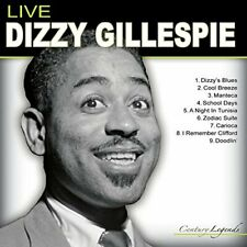 Dizzy Gillespie-Live CD NEW