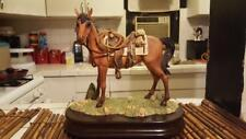 The San Francisco Music Box Company 1992 Western Horse with Saddle