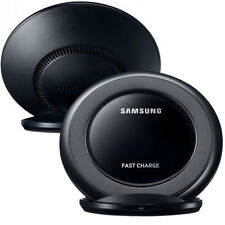 New Fast QI Charger Samsung Wireless Charger iPhone X Stand For S7 Edge + S8 S6