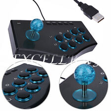 USB Fighting Stick Arcade Joystick Gamepad Controller For Playstation 3 PS3 PC