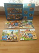 Thomas & friends : 4 tell-a-story puzzles (Ravensburger) Thomas the Tank Engine