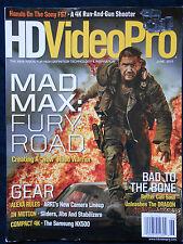 HD VIDEO PRO MAGAZINE MAD MAX FURY ROAD TOM HARDY