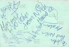 NICK HEYWARD & HAIRCUT 100 (FANTASTIC DAY) SIGNED AUTOGRAPHS