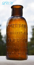 Super NICE antique EMERSON'S not BROMO SELTZER but RHEUMATIC CURE !  Baltimore