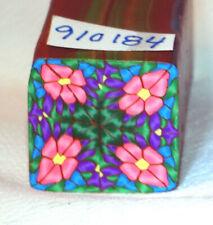 "polymer clay cane, raw, square, Kato, Premo # 910184   7/8"" x 1 5/8"" 1 ounce"