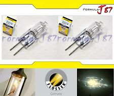 FLOSSER G4 2074210 12V 10W TWO BULB HEAD LIGHT PLUG PLAY HALOGEN REPLACEMENT FIT