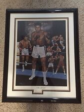Muhammad Ali signed/framed rare 1993 lithograph/AP 11/50/ JSA  LOA and hologram