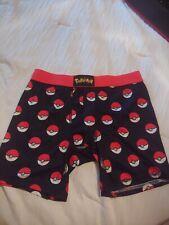 Pokemon GO Pokeball Poke Ball Men's Boxer Briefs Underwear Gotta SMALL