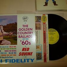 COUNTRY 33 RPM LP RECORD - RED SOVINE - STARDAY SLP 197