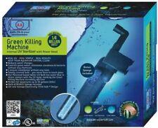 UVC Klärer Green Killing Machine 9 Watt Algenkiller Keimdruck mindern Diskus
