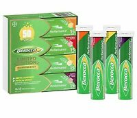 Berocca Performance Effervescent Tablets 60 Count Limited Edition Celebration