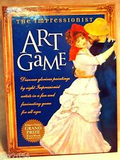 The Impressionist Learning Art Game Boxed Set Book & Cards O'Reilly NIB