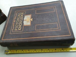 1933 PICTORIAL KNOWLEDGE BOOK VOLUME 5 EDITED BY H.A. POLLOCK & ENID BLYTON