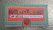Mommy Money, 60 Checks From Your Family, Potter Style, Mother's Day any Day