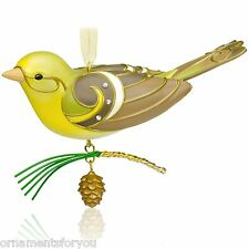 Hallmark 2015 Lady Western Tanager Beauty of Birds Special Edition Ornament
