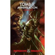 Dungeons & Dragons Tomb of Annihilation Adventure 5th Edition Hardcover