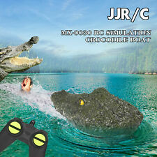 Remote Control Crocodile Head RC Boat 2.4G Electric Toy with Battery Fast Uk-p&p