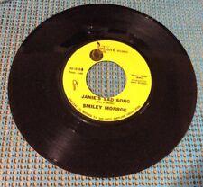 Smiley Monroe- Aug. 1972 45 RPM Promo PORTLAND Ltd. Records 1010 PRICE CUT !!!