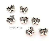 5Pcs Enamel Butterfly Spacer Beads Alloy Accessories Jewelry Findings DIY HH3755