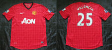 Valencia #25 MANCHESTER UNITED home shirt jersey NIKE 2012-2013 adult SIZE L