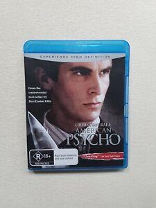 American Psycho Blu Ray Christian Bale