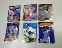 Bulk Lot Of 23 Random MLB Baseball Cards UD Pinnacle Leaf Donruss 1992 to 1995