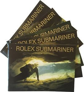 Rolex Submariner Watch Instructions Book Booklet Manual - Pick Date and Language