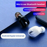 Bluetooth 5.0 Kopfhörer In-Ear Kabellos Mini Ohrhörer Stereo Headset